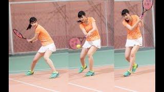AKBでテニスと言えば佐藤朱! 佐藤朱と言えばテニス。 2018年4月15日 井...