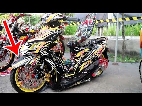 Modifikasi Motor Ceper BANnya Sampai Diluar - Yamaha Mio Sporty Modified (Motor Ceper Indonesia)
