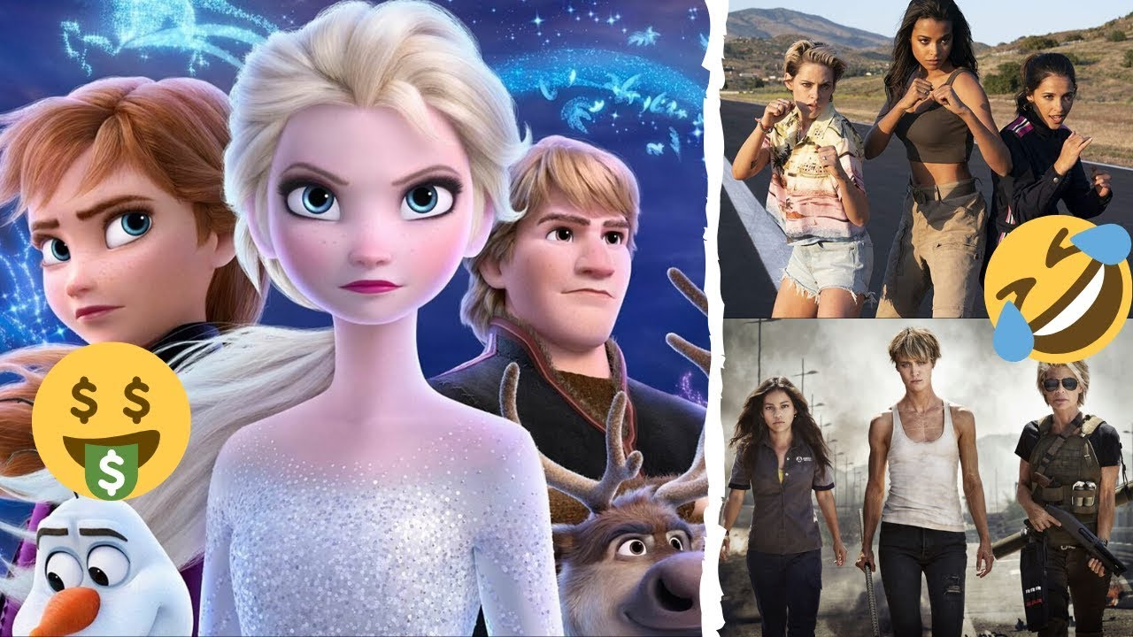 Frozen 2 Smashes Box Office Records as Dark Fate and Charlie's Angels Continue to Flop