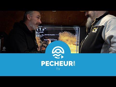 Décryptage d'une vue Down Imaging (DI) d'un sondeur Humminbird - Tutoriel Pecheur.com