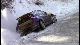 Rallye Monte Carlo 2018 PREVIEW | CRASH, MISTAKES & SHOW [HD]