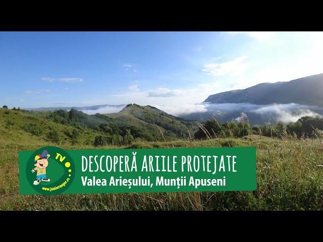Descoperă ariile protejate de pe Valea Arieșului (2018)