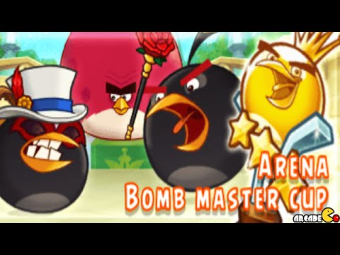 Angry Birds Fight - New Event Black Bird Arena! iOS/ Android