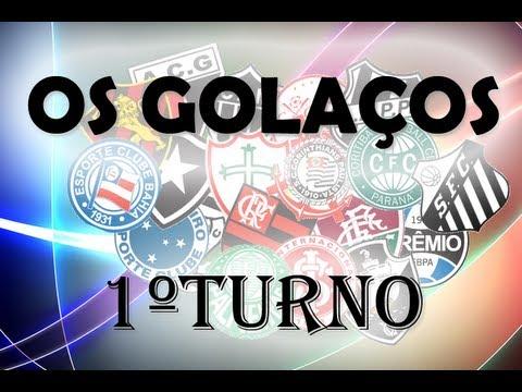 Campeonato Brasileiro 2012 - Os Golaços - 1ºTurno