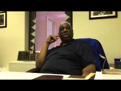 Sen. Floyd Nicholson addresses the 2016 Democratic presidential primary
