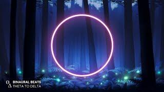 LET GO of Worries [Insomnia - Anxiety] Moonlight Serenade Binaural Beats Sleep Music