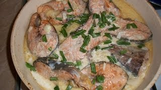 Make Pink Salmon In A Creamy Mustard Sauce - Diy Food & Drinks - Guidecentral