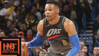 Oklahoma City Thunder vs New Orleans Pelicans Full Game Highlights / Feb 2 / 2017-18 NBA Season
