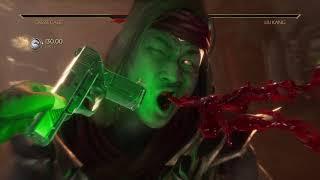 Mortal Kombat 11 Cassie vs Liu Kang - gnarly ball buster