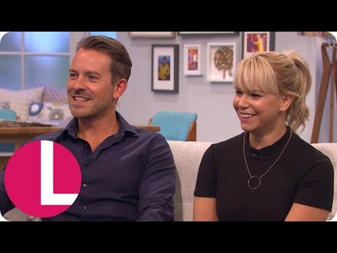 Hollyoaks' Ashley Taylor-Dawson And Jessica Fox On Nancy And Darren's Murder Storyline | Lorraine