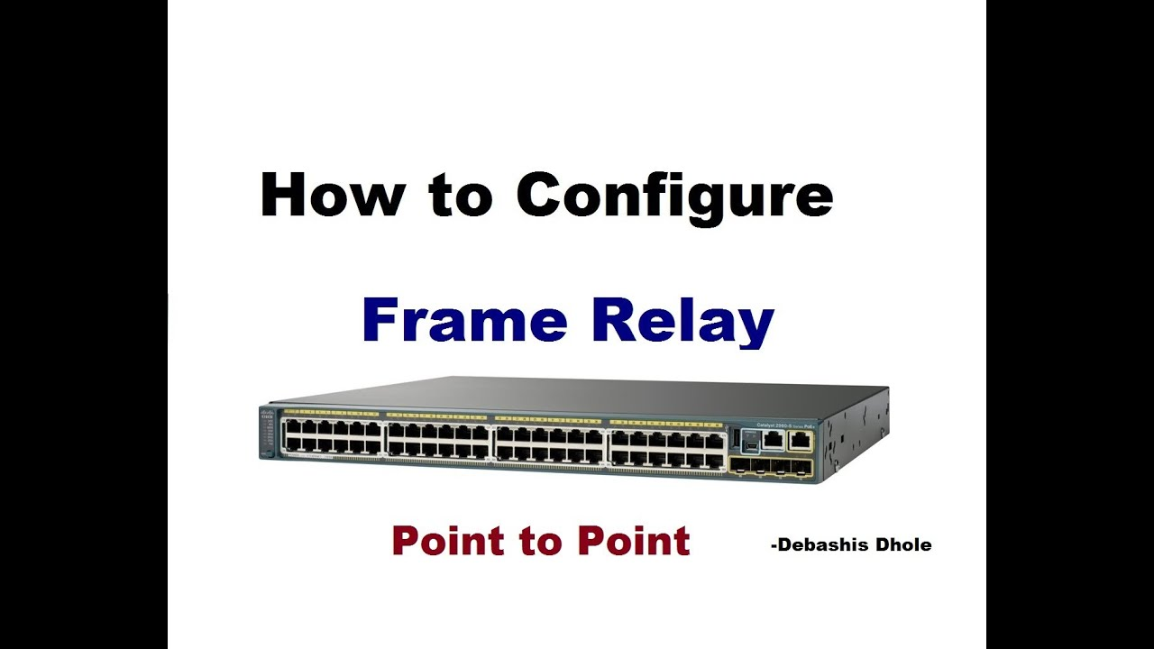 How To Configure Frame Relay Switching Using Packet Tracer Youtube Switch Ethernet