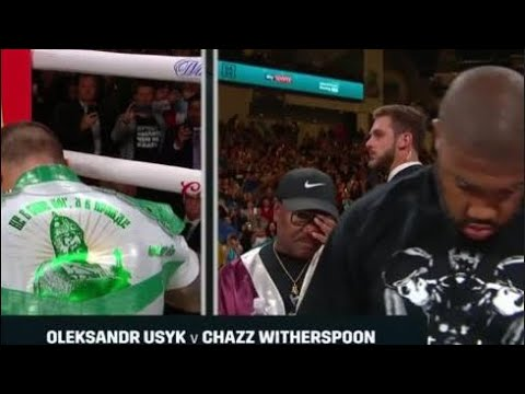 OLEKSANDR USYK VS CHAZZ WITHERSPOON LIVE COVERAGE & BREAKDOWN