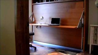 Dotto Murphy Bed Desk & Bed At Colorado Resort