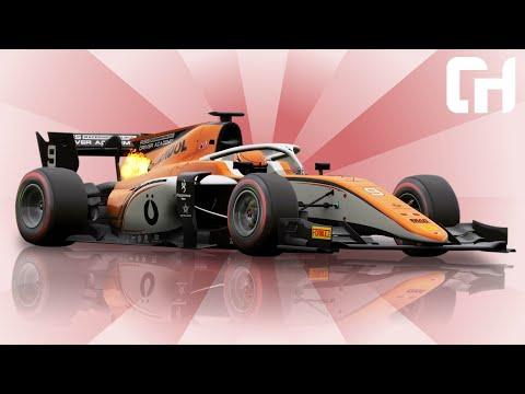 RSS 2018 Formula 2 Car Mod for Assetto Corsa [Formula RSS 2 V6]