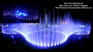Vigan City Musical Dancing Fountain Official Video EYE OF THE TIGER(Gov Chavit Singson)