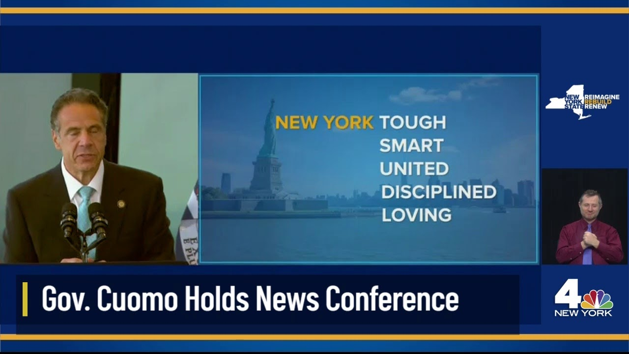 LIVE: NY Gov. Cuomo Holds News Conference