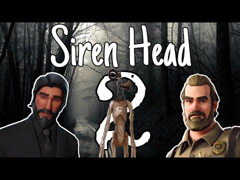 (A Fortnite Roleplay) Siren Head 2 // Pt2  (Short Flim)  (Horror)