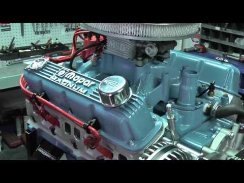 SB Chrysler 360 475HP Crate Engine - YouTube