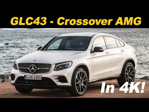 2018 Mercedes Benz GLC 43 AMG Coupe First Drive Review In 4K UHD!