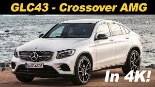 2018 Mercedes Benz GLC 43 AMG Coupe First Drive Review In 4K UHD!(, 2017-10-17T15:40:20.000Z)