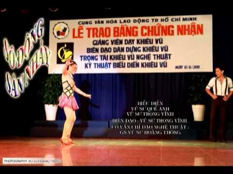 VU SU HOANG THONG - SOI DONG SAN NHAY ( BEBOP ) LOP BIEN DAO KHOA 10 /2013