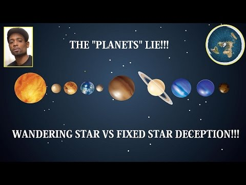 """EARTH ISN'T A """"PLANET"""", 7 WANDERING STARS! , NORSE MYTHS, NUMEROLOGY & MORE! #FLATEARTH"""