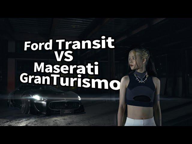 SGCB Ford Transit VS Maserati GranTurismo