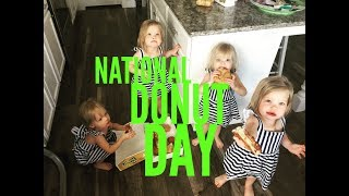 YOU WONT BELIEVE WHAT THE GIRLS DID ON NATIONAL DONUT DAY
