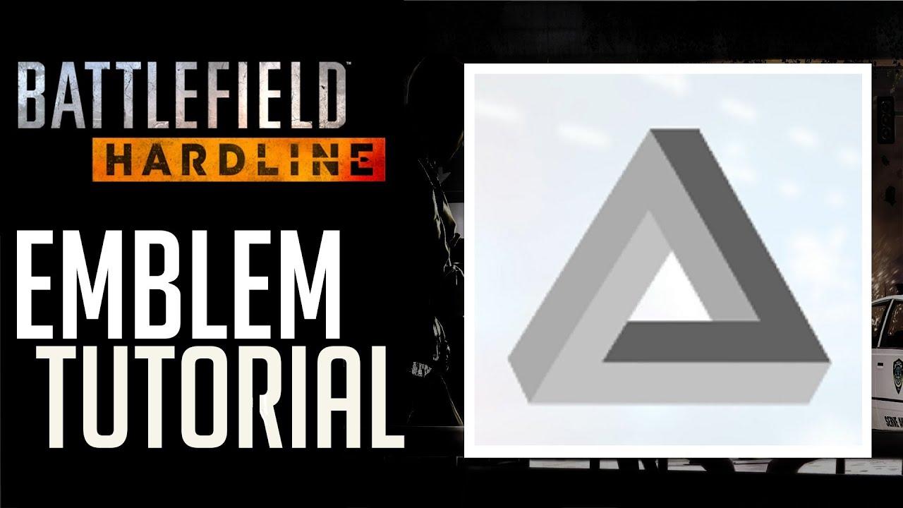 Как сделать эмблему в battlefield hardline