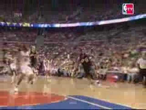 Lebron James vs Detroit Pistons PLAYOFFS & SEASON 2007