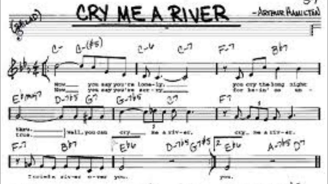 how to play cry me a river on guitar