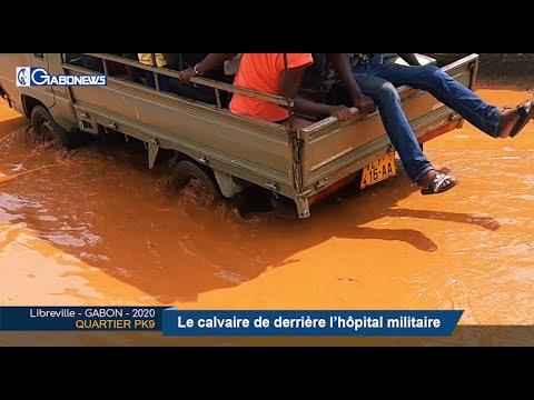 GABON / QUARTIER PK9 : Le calvaire de derrière l'hôpital militaire
