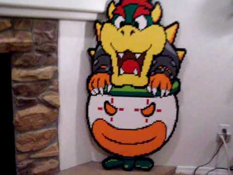My Lego Paper Bowser - YouTube
