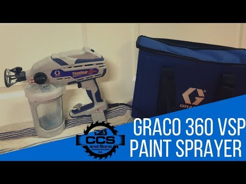 Graco TrueCoat 360 VSP Paint Sprayer - Unboxing, Usage, Cleaning and Review