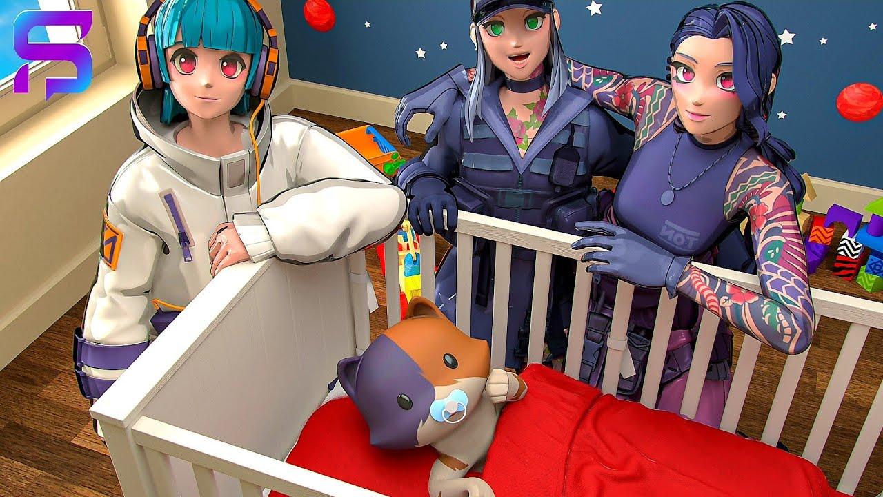 Download KIT'S NEW FAMILY LIFE.... ( Fortnite Short )