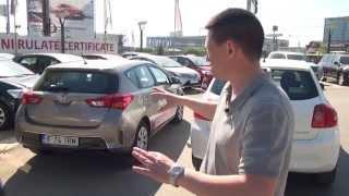 Toyota Auris 1.6 CVT 2013 (www.buhnici.ro)