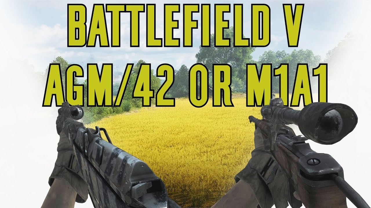 Weapon Comparison AG M/42 & M1A1 Carbine - Battlefield V