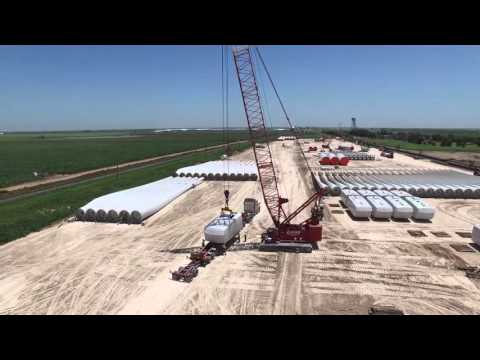 Logisticus Group:  Wind Turbine Project - Texas, 2015