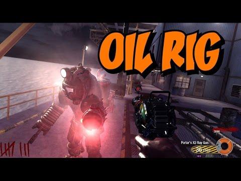 Modern Warfare 2's Zombie OIL RIG! ★ (CoD Custom Zombies Maps/Mods Gameplay)