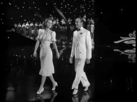 """INCREÍBLE!... Eleanor Powell y Fred Astaire bailando para """"Begin the Beguine""""."""