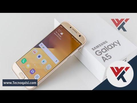 مراجعة شاملة لهاتف Samsung Galaxy A5 2017 واهم الميزات والاكسسوارات