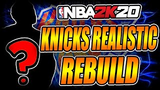 THE NEW YORK KNICKS FINALLY GOT LUCKY!! - NBA 2k20 Realistic Rebuild