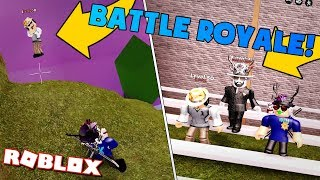 PLAYING *NEW* JAILBREAK BATTLE ROYALE w/ ASIMO AND BADCC! | Jailbreak On Roblox #37