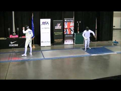 Division I Men's Epee Gold Medal Final - 2012 December North American Cup