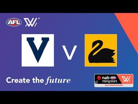 Vic Country v Western Australia - NAB AFL Women's Under 18 Championships