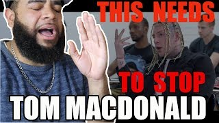 "{{ REACTION }} Tom MacDonald - ""WHITEBOY"" LET'S REALLY MAKE AMERICA GREAT ( Not 30min )"