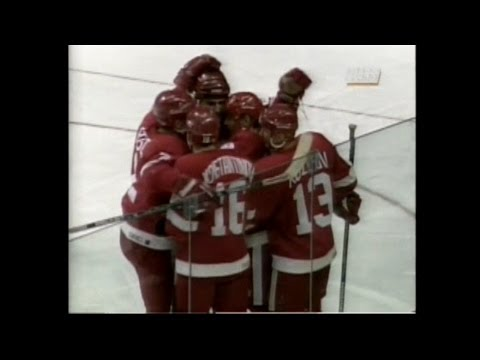 95/96 RS: Det @ Cgy Highlights - 10/27/95 (Russian 5 Debut)