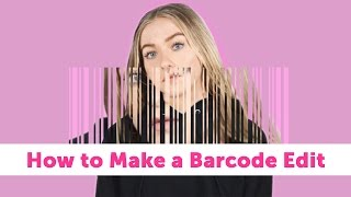 This Barcode Edit Is a Whole New Kind of Photo Collage