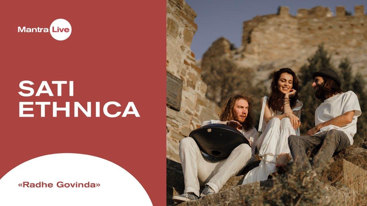 Download Sati Ethnica - Radhe Govinda   Mantra Live