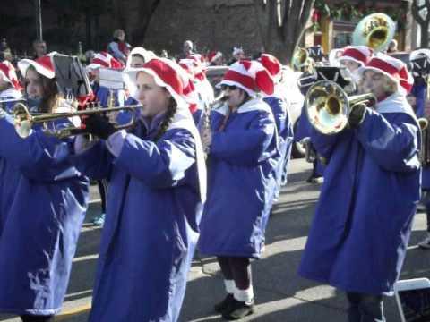 Saugatuck High School Band Christmas Parade